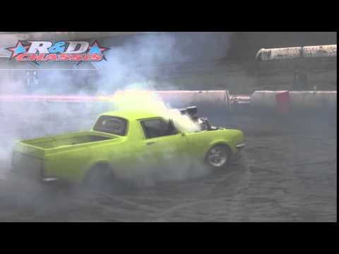Pro Burnouts – 'OUTLAW' Craig Bailey – Run 2 – Toowoomba Skidbowl – 14.06.14