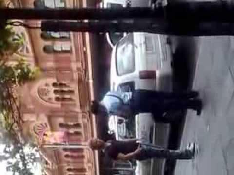 guy talks back to police woman and gets arrested