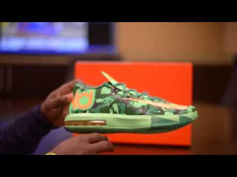 Nike KD VI Easter Unboxing and On Feet Review HD