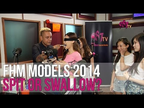 FHM Models Spit or Swallow