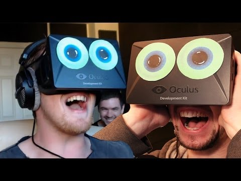 FREAKING OUT | Cyberspace with the Oculus Rift.