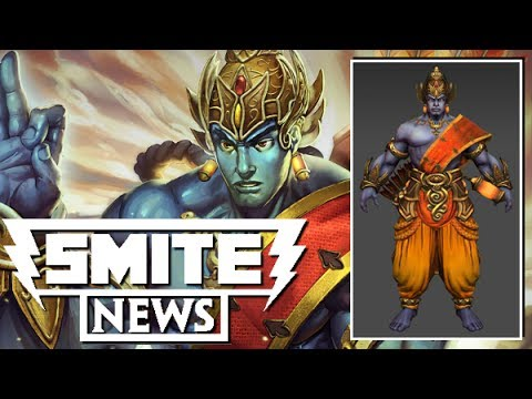 SMITE NEWS: Rama Model, Card and Concept Art!
