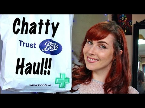 Chatty Boots Haul; plus new hair plans!