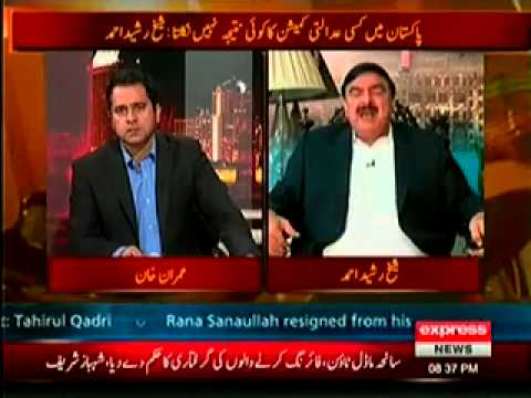 Takraar (20th June 2014) Special Interview with Sheikh Rasheed