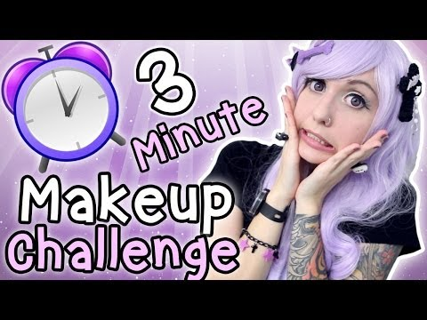 3 Minute Makeup Challenge ~ Including Lashes!