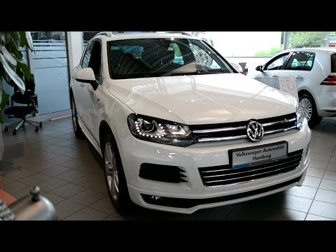 2014 New Volkswagen Touareg V6 TDI – R-Line Exterieur and Interior