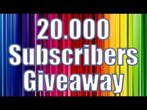 20.000 Subscribers Giveaway!!!