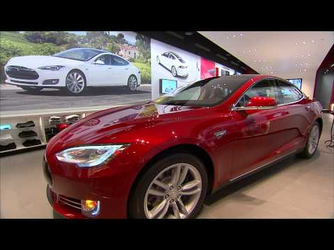 Tesla Motors Gallery at NorthPark Center