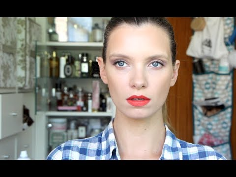 Makeup Tutorial: Red Lips and Slicked Back Hair…