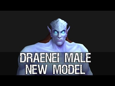 Draenor Male Character New Model Preview – Warlords of Draenor