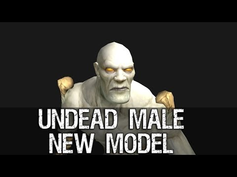 Undead Male Character New Model Preview – Warlords of Draenor