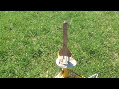 Rocket from a Willow Branch – The Test Flight