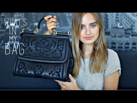 What's In My Bag | Sonya Esman