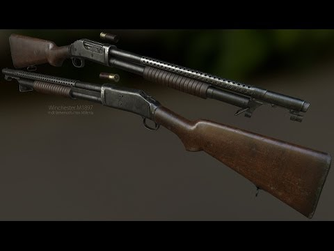 Winchester M1897 Trench Gun for Fallout: New Vegas
