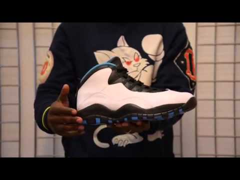 Cheap Wholesale 2014 Nike Air Jordan 10 X  Powder Blue  Unboxing and Detailed Review H
