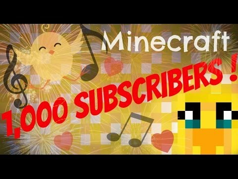 1,000 Subscribers : Thank You !!!!!!! x