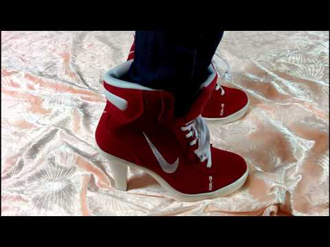 2014 cheap SB high heels shoes review +on feet