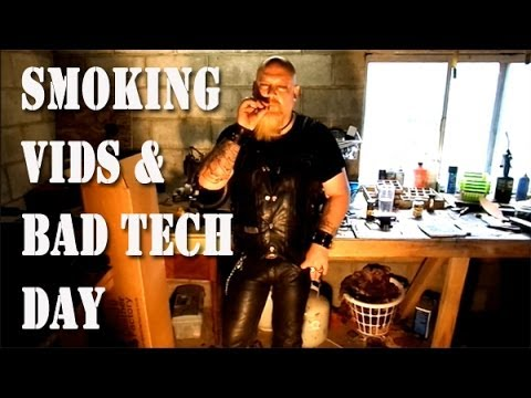 Smoking Vid's and Unboxing Leather