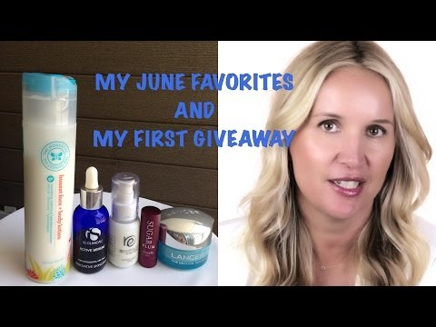 June Favorites and My FIRST GIVEAWAY by Celebrity Makeup Artist Monika Blunder