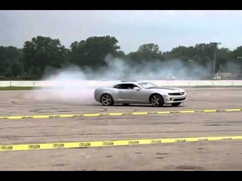 Spontaneous Airbag Deployment while Drifting! Wow it's unbelievable!