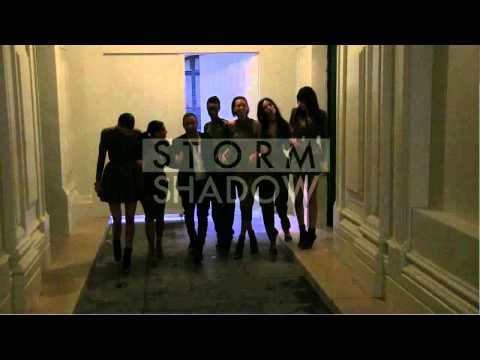 EXCLUSIVE – Kim Kardashian and Kendall Jenner leave Balmain with fellow models and Olivier Rousteing