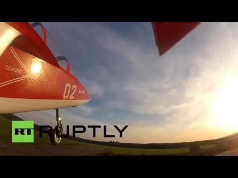 Russia: Model plane obsessive creates flying masterpiece