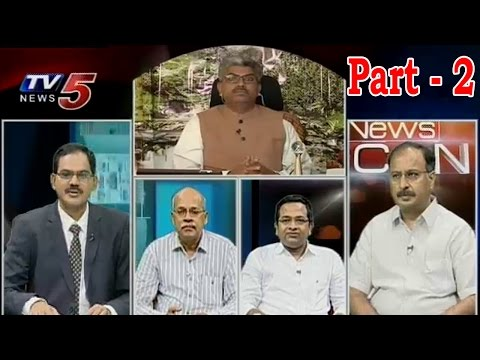 News Scan Debate On Budget 2014-15 | Modi Budget Does Reach Expectations ? | Part 2 : TV5 News
