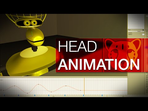 Basic Head Animation Tutorial (ft. Crow T. Robot in Cheetah3D)