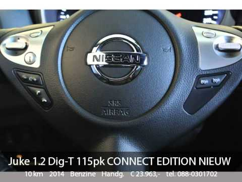 Nissan Juke 1.2 Dig-T 115pk CONNECT EDITION NIEUW MODEL