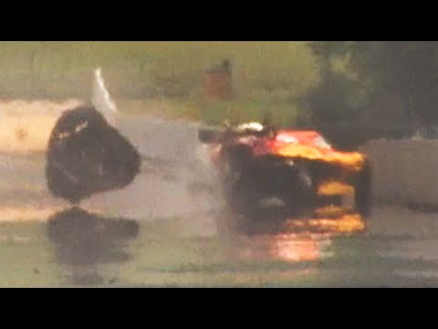 Pro Mod Corvette Crash at Maple Grove