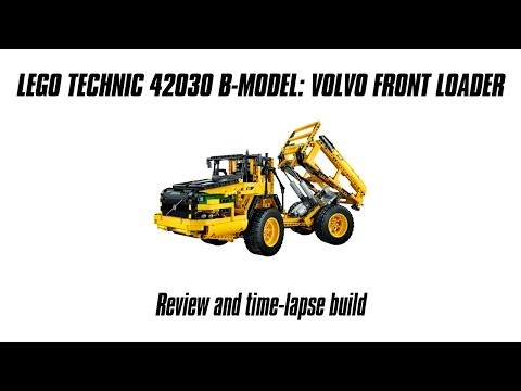 Lego Technic 42030 B-model Review: Volvo Articulated Hauler
