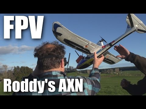 Roddy FPVs some hot glue (formerly an AXN)