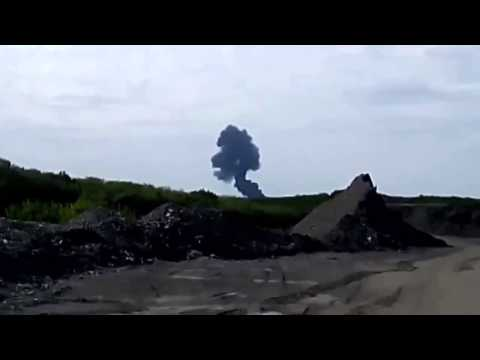 Malaysia Airlines MH17 Plane Crashes on Ukraine Russia 17 07 2014