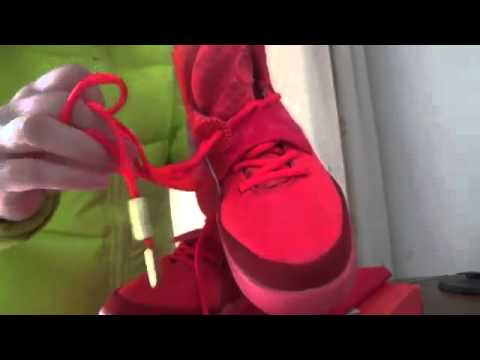 Cheap Wholesale 2014 Super Perfect Nike Air Yeezy 2 Red October