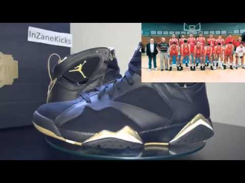 Cheap Wholesale Air Jordan VI VII GMP Golden Moment Pack 20th Anniversary