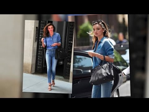 Miranda Kerr Shows Us How To Do Off Duty Chic