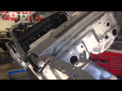 Acid Burn Front Apron Anna's 1965 Mustang Convertible – Day 27 – Part 4