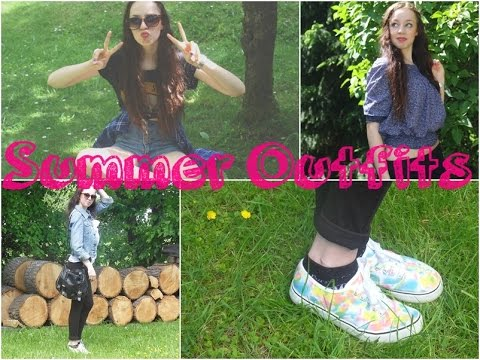 ☀ SUMMER LOOKBOOK | Outfit Ideas for July! ♥