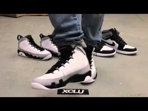 Cheap Wholesale Air Jordan 9 Retro Barons On feet Video at Exlcucity