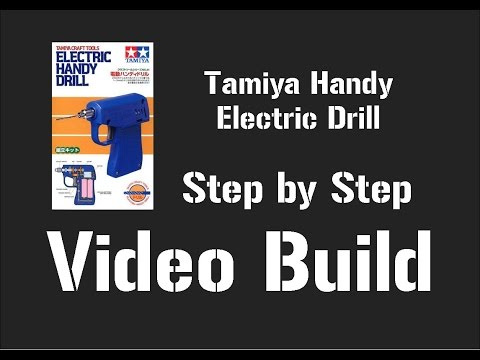 Tamiya Electric Handy Drill Step by Step Build Video
