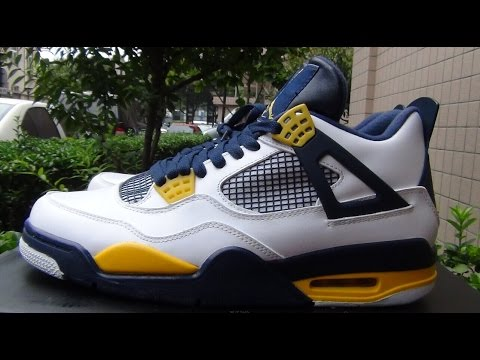 2014 Authentic Air Jordan 4 Marquette Review From repsperfect.ru (Free Shipping)