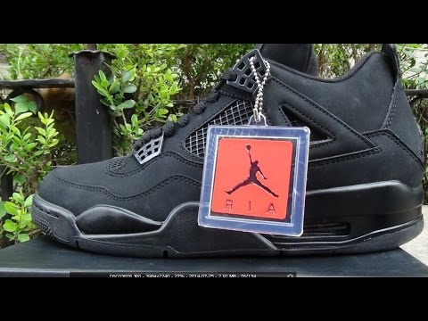 """2014 Authentic New Release Air Jordan 4 Retro """"Black Cat"""" Free Shipping From repsperfect.ru"""