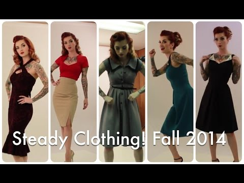 New Cherry Dollface Dresses and Fall 2014 Collection with Steady Clothing!