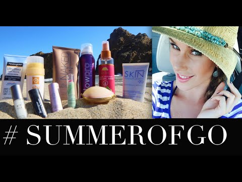 Come To The Beach With Me! OOTD + What's In My Beach Bag + #SUMMEROFGO Giveaway