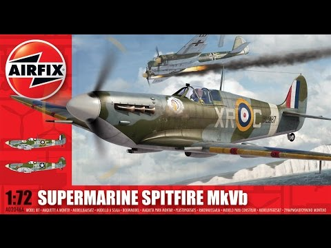 Airfix 1/72 Supermarine Spitfire MK Vb Speed Build