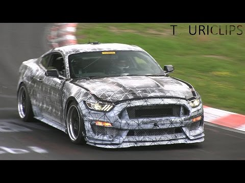 2016 Ford Mustang SVT spied testing on the Nürburgring!