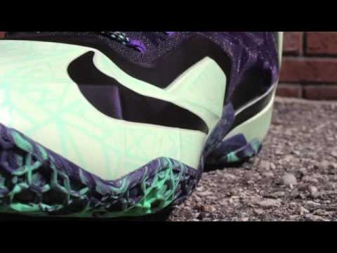 Nike Lebron 11 All Star Gator King  Attention To Detail