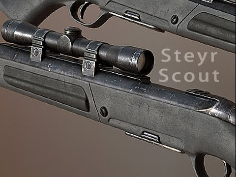Steyr Scout for Fallout: New Vegas