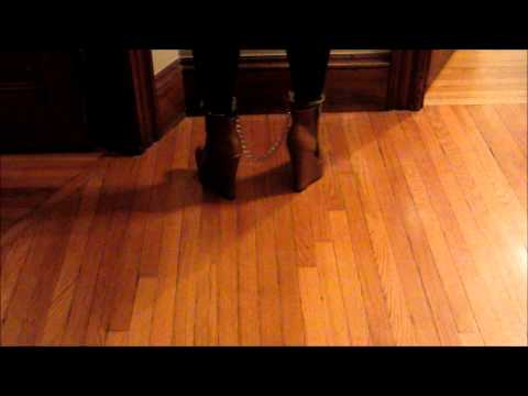 Shackled in Sloane Ankle Booties by Sophia and Lee