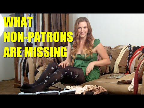 PREVIEW for Non-Patrons: Penelope Reviews Look From London 'Star' Pantyhose | Penelope's Pantyhose